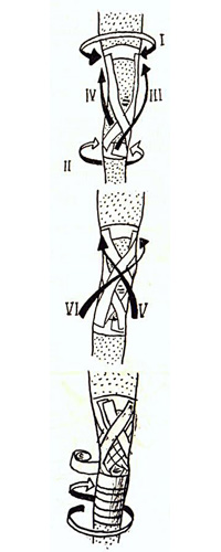 Основной тейп при повреждениях связок коленного сустава